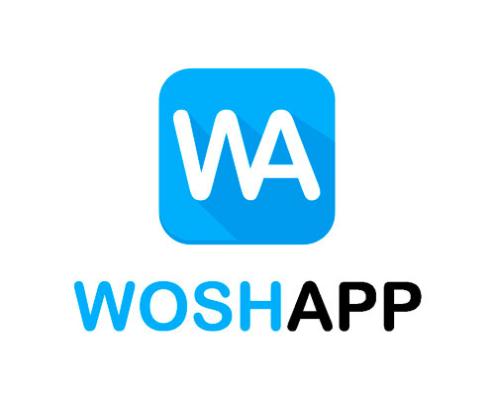 Woshapp's logotype.