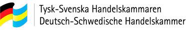 Logotype of the German-Swedish Chamber of Commerce.