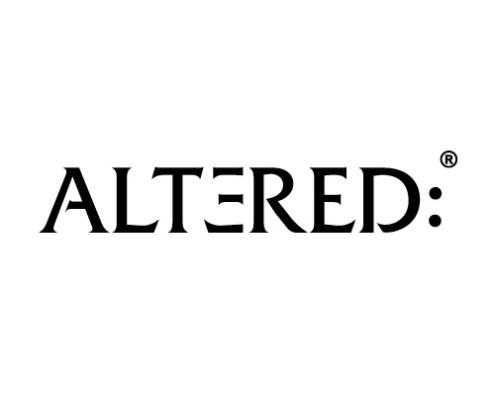 Altered's logotype.